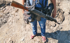 Security forces clash with criminal group in Tierra Caliente, Michoacán