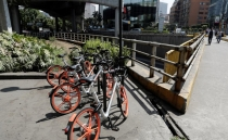 Theft in Mexico City decimates Chinese bike-sharing company Mobike