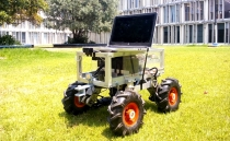 Hi-tech robot tractor developed in Mexico