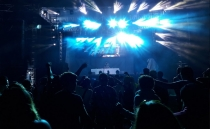 Famous DJs perform at music festival in Oaxtepec