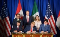 Mexico, the U.S. and Canada sign USMCA at G20 summit