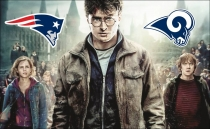 """Harry Potter"" apoya a los Rams en el Super Bowl"