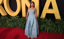 Mexican actress and activist Yalitza Aparicio joins the Academy of Motion Picture Arts and Sciences