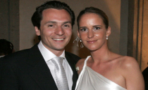 German authorities searched two properties owned by Marielle Eckes, Emilio Lozoya's wife