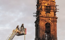 Human-caused fire damages Mexico City's second-oldest church; reconstruction project approved