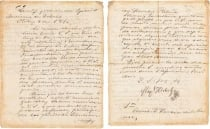 Morton auction house sells historic papers written by the great heroes of the Mexican Independence