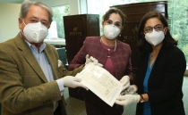 Auction house returns historic paper from the Mexican Independence
