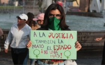 Femicide: Protesters took the streets to demand justice for Jessica González Villaseñor