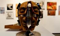 "An exhibition of masks of ""encouragement"""
