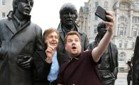 "Paul McCartney hace historia en el ""Carpool Karaoke"" de James Corden"