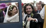 "Kit Harington y Rose Leslie, de ""Game of Thrones"", se casan en Escocia"