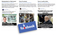 "Facebook a la caza de las ""fake news"""