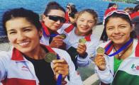 Female Mexican canoeists triumph at the 2018 Pan American Canoeing Championship