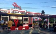 El local Charlotte's Legendary Lobster Pound en Maine