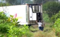 Mexican officials fired over bodies stored in trucks