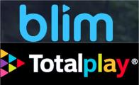 Logos de TotalPlay y Blim