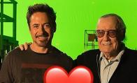 """Te lo debo todo a ti"", dice Robert Downey Jr. a Stan Lee"