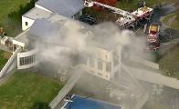 Incendio provocado en mansión en Colts Neck