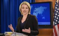 Heather Nauert, portavoz del Departamento de Estado
