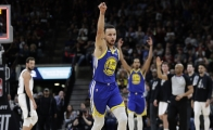 La increíble canasta de Stephen Curry