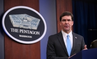 El secretario estadounidense de Defensa, Mark Esper