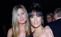 Salma Hayek y Jennifer Aniston