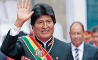 Who didn't welcome Evo Morales to Mexico?