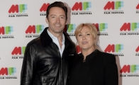 Hugh Jackman y su esposa Deborra-Lee Furness