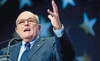 Giuliani descarta interrogar a magnate