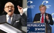 Giuliani y Bolton, favoritos para ser Secretario de Estado de Trump: WSJ