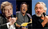 Springsteen, Redford y De Niro, condecorados por Obama