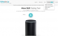 English Test en Alexa