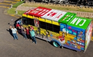 Mexicans drive bus to Russia for the World Cup