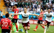 Mexico wins against South Korea at the World Cup