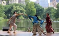 Mexican dancers perform in New York