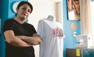Mexican designer uses recycled PET bottles to make clothes