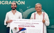 Mexico gives USD$30 million grant to El Salvador as part of Central America plan