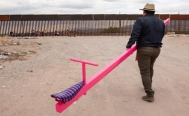 Mexico and the U.S. brought together through seesaws