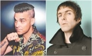 "Robbie Williams quiere ""pelea oficial de boxeo"" con Liam Gallagher"