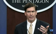 El secretario de Defensa de Estados Unidos, Mark Esper