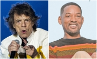 Mick Jagger y Will Smith