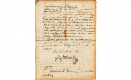 Authorities evaluate the authenticity of historic papers from the Mexican Independence sold by auction house