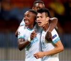 Hirving Lozano anota en playoffs de Champions League