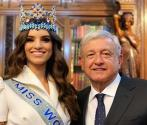 Miss World meets with Mexico's President