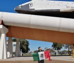 Mexican student creates material used at NASA's space mission