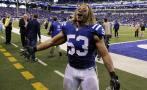 Fallece linebacker de los Colts
