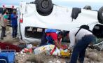 "Caravana de ""Marichuy"" sufre accidente en BCS; la reportan estable"