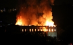 Brazil's National Museum engulfed in flames