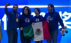 Mexican high school students win robotics contest in China
