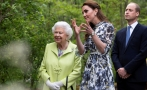 Kate Middleton en el Chelsea Flower Show